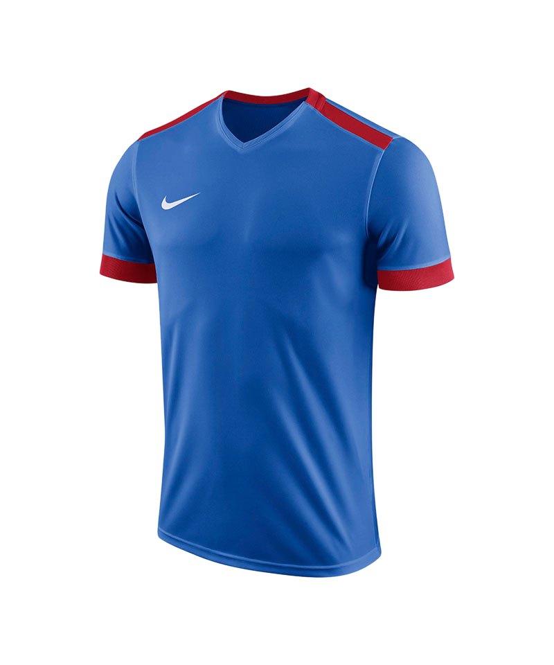 Nike Park Derby II Trikot Kids Blau Rot F463 - blau