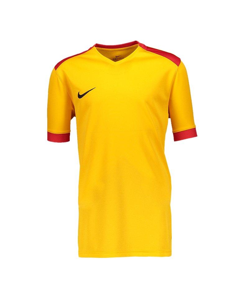 Nike Park Derby II Trikot Kids Gelb Rot F739 - gelb