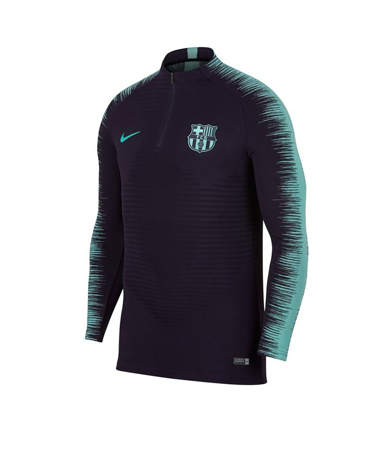 Nike FC Barcelona Strike Drill Top Lila F525 - lila