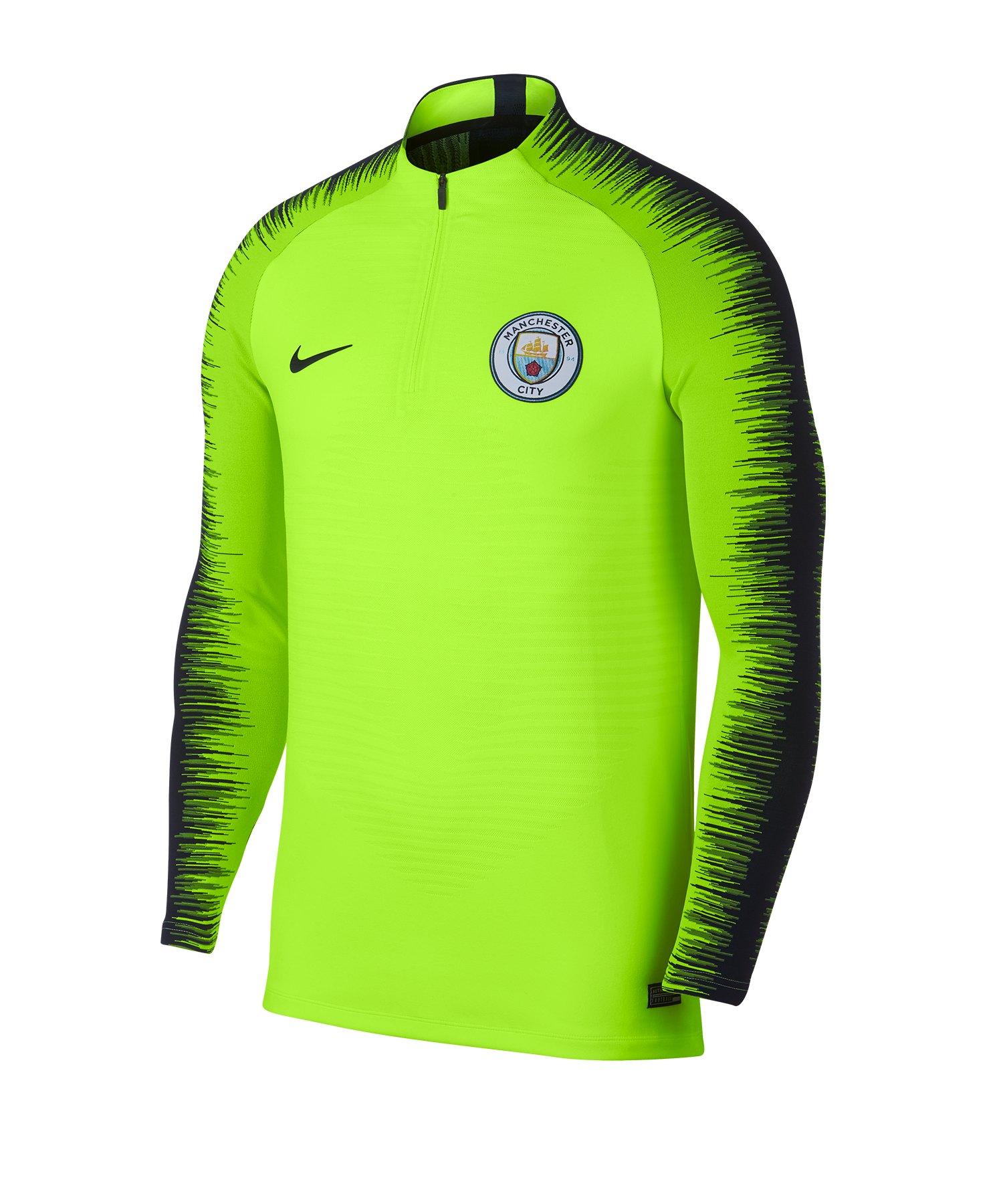 Nike Manchester City FC Strike Drill Top Gelb F702 - gelb