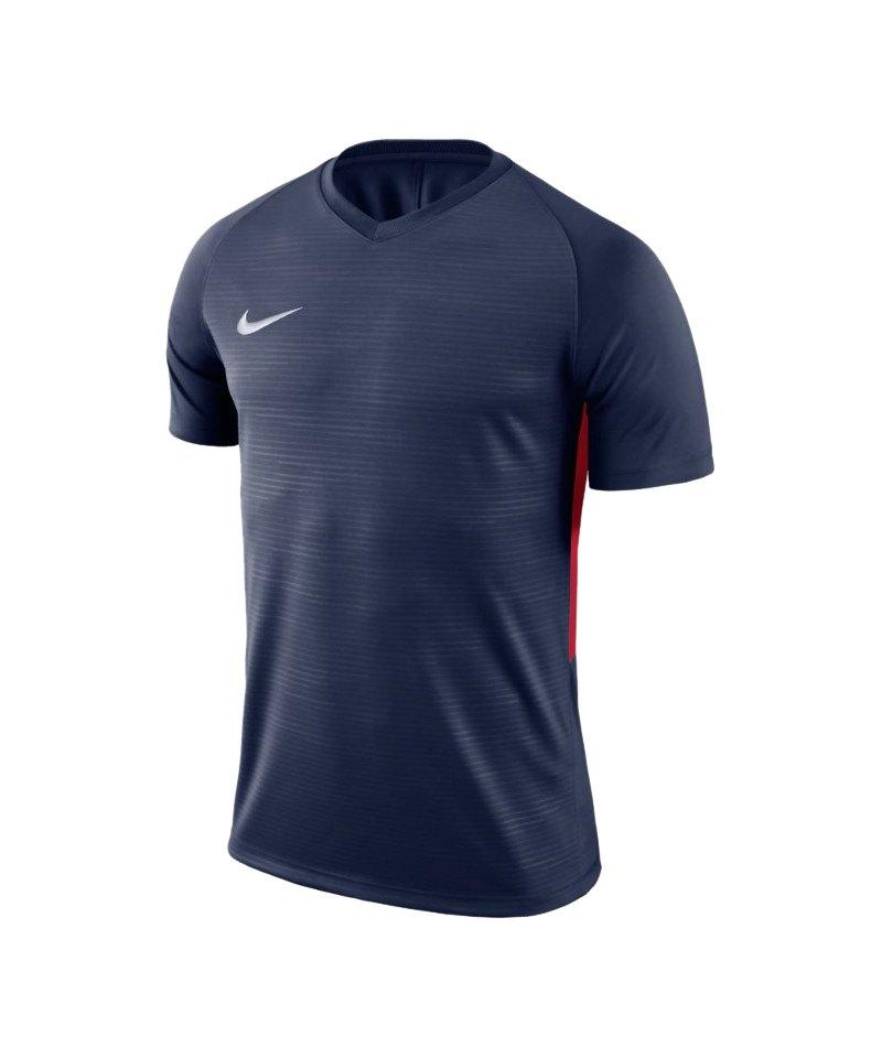 Nike Tiempo Premier Trikot Blau Rot F410 - blau