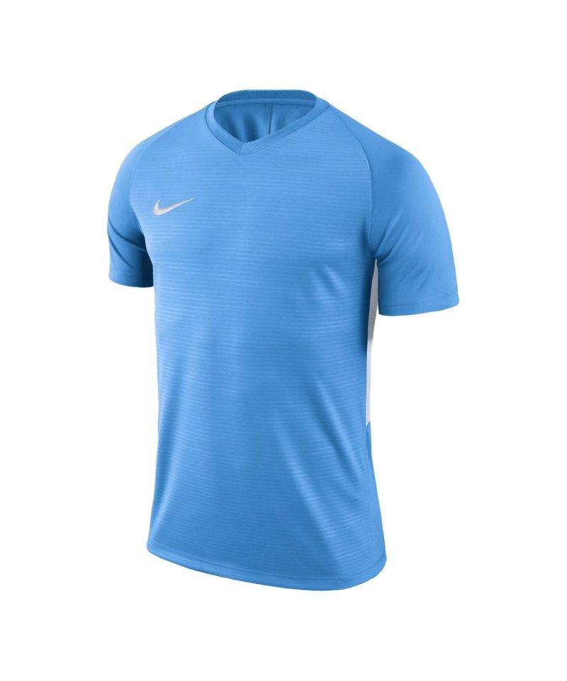 Nike Tiempo Premier Trikot Blau Weiss F412 - blau