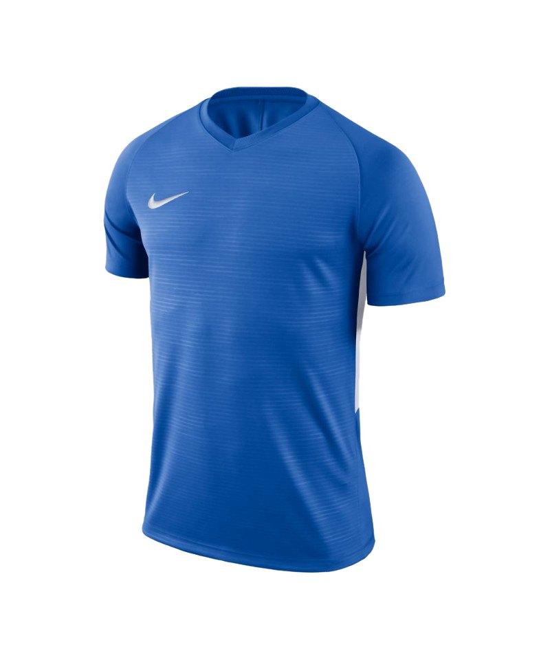 Nike Tiempo Premier Trikot Blau Weiss F463 - blau