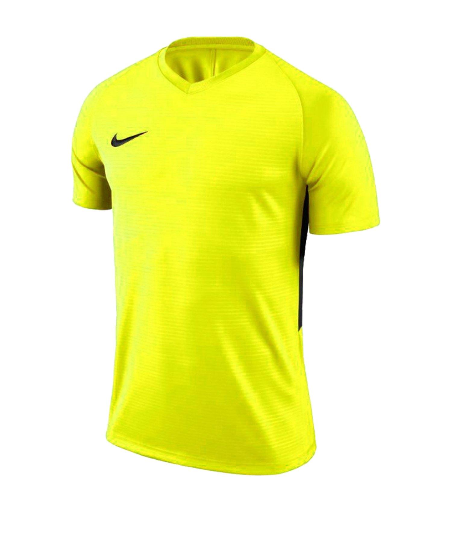 Nike Tiempo Premier Trikot Gelb Schwarz F702 - gelb