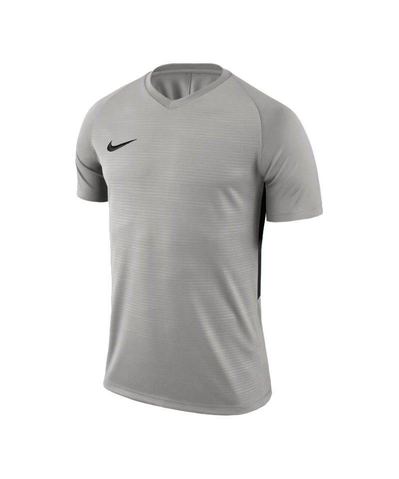 Nike Tiempo Premier Trikot Grau Schwarz F057 - grau