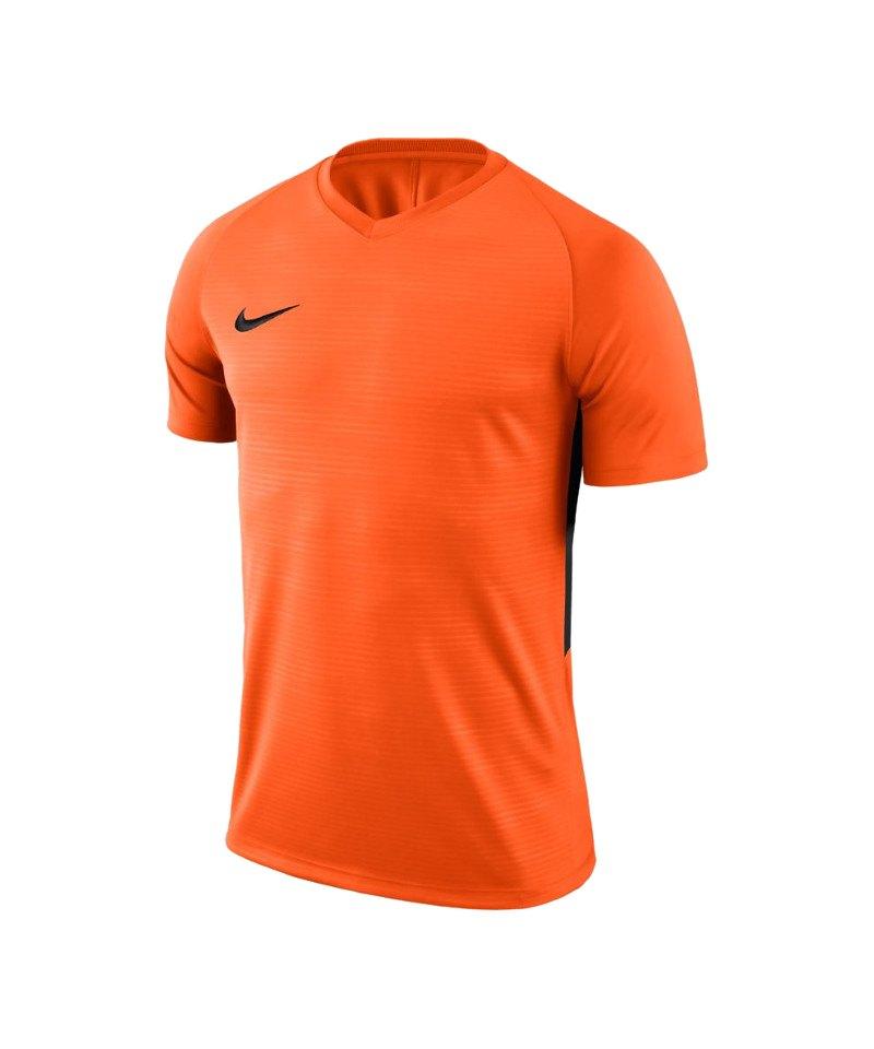Nike Tiempo Premier Trikot Orange Schwarz F815 - orange