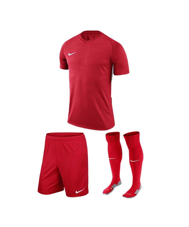 Nike Trikotset Tiempo Premier Rot Weiss F657 - rot