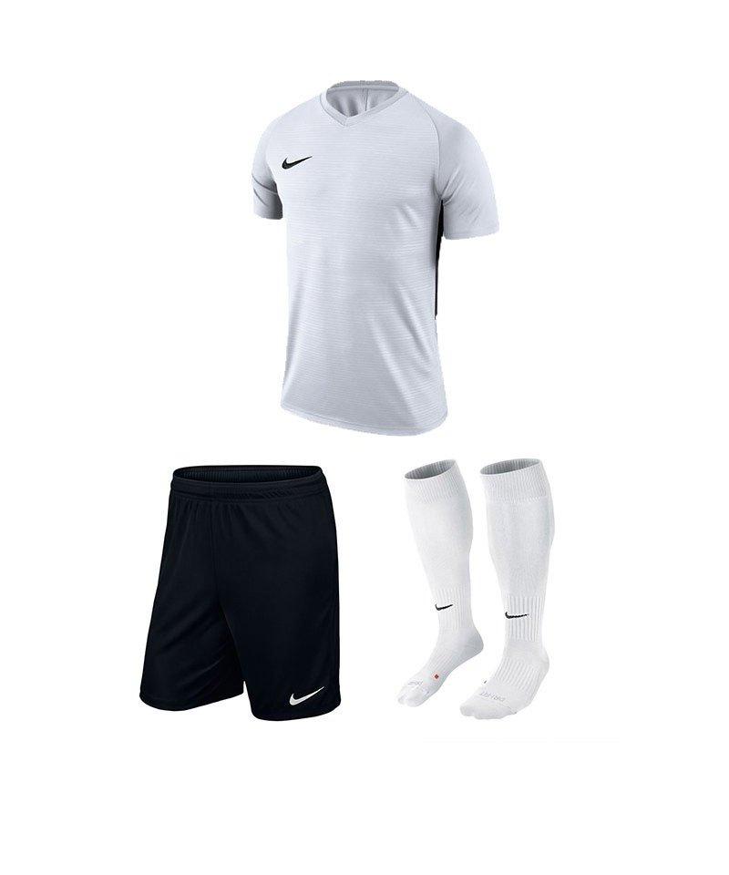 Nike Trikotset Tiempo Premier Weiss Schwarz F100 - weiss