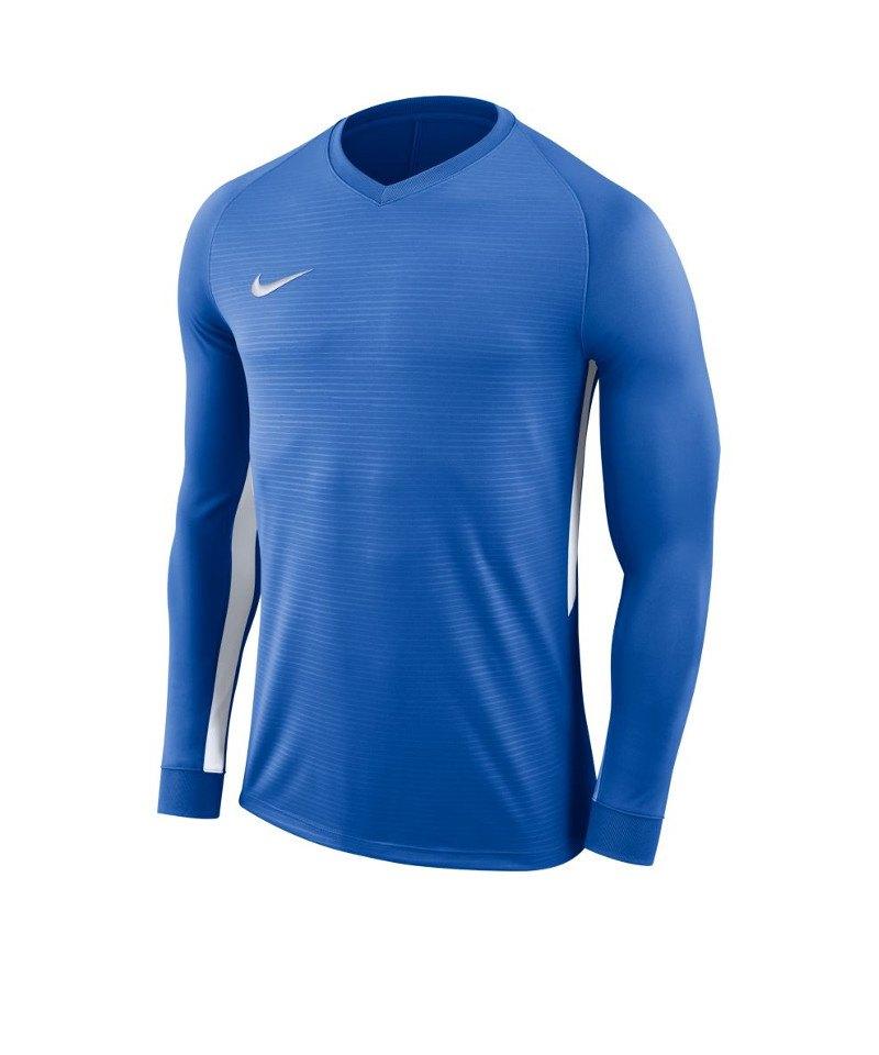 Nike Tiempo Premier Trikot Langarm F463 - blau