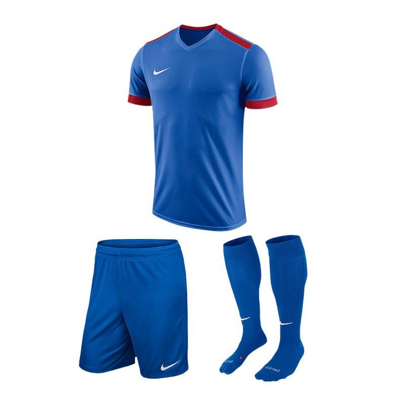 Nike Trikotset Park Derby II Blau Rot F463 - blau