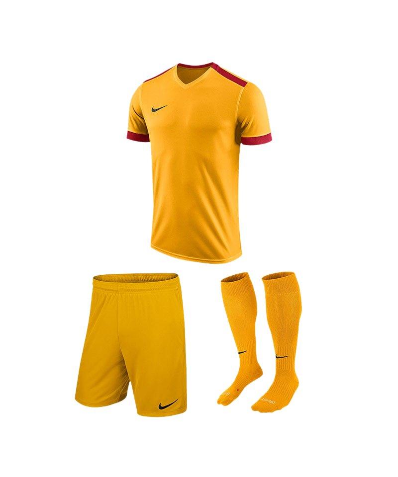 Nike Trikotset Park Derby II Gelb Rot F739 - gelb