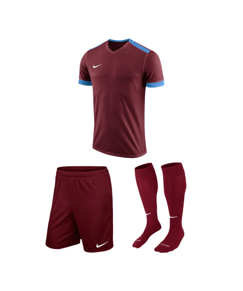 Nike Trikotset Park Derby II Rot Blau F677 - rot