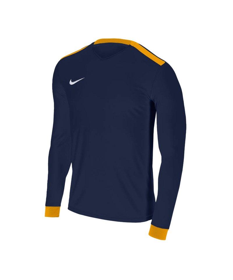 Nike Park Derby II Trikot langarm Blau F410 - blau