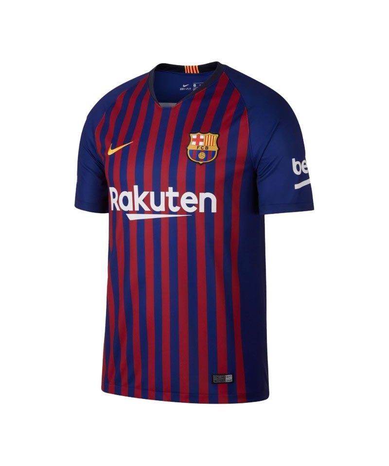 Nike FC Barcelona Trikot Home 2018/2019 Blau F456 - blau