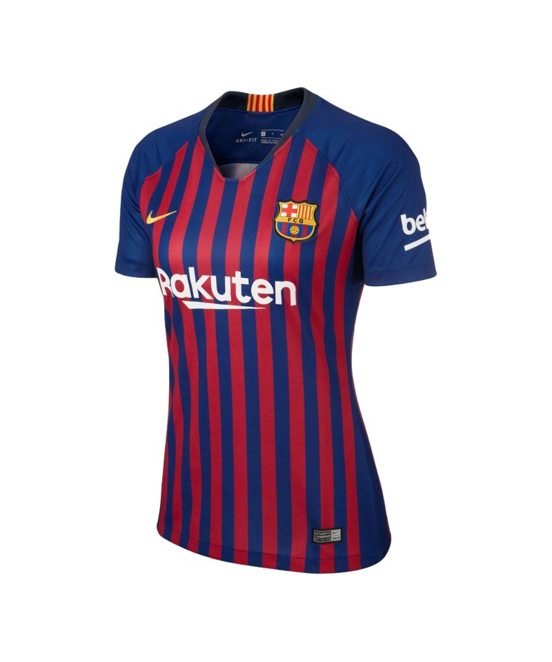 Nike FC Barcelona Trikot Home 2018/2019 Damen F456 - blau