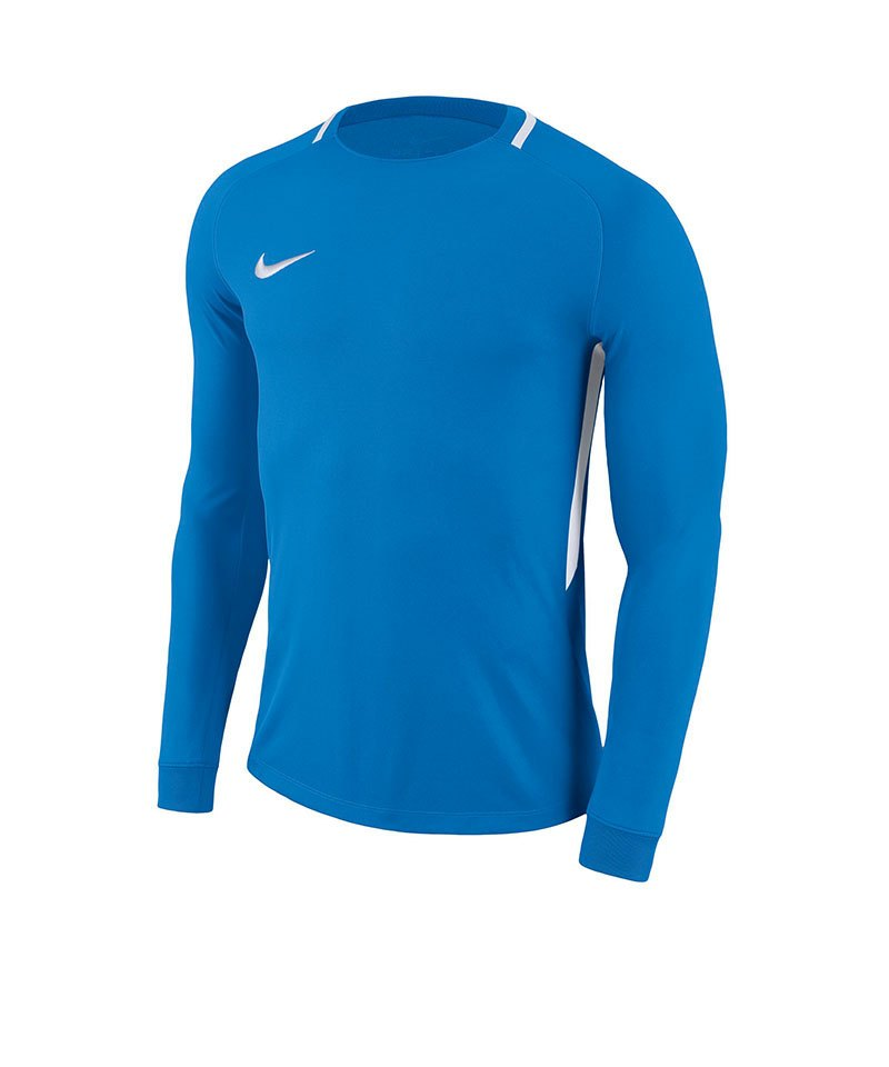 Nike Park III Goalie Torwarttrikot Blau Weiss F406 - blau