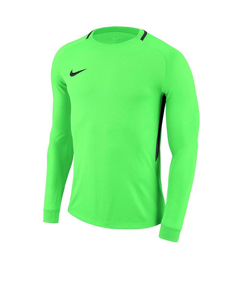 Nike Park III Goalie Torwarttrikot Grün F398 - gruen