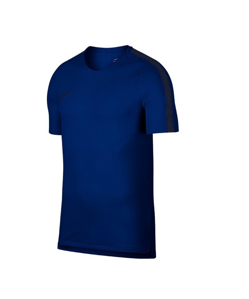 Nike Breathe Squad Top kurzarm Rot F405 - blau