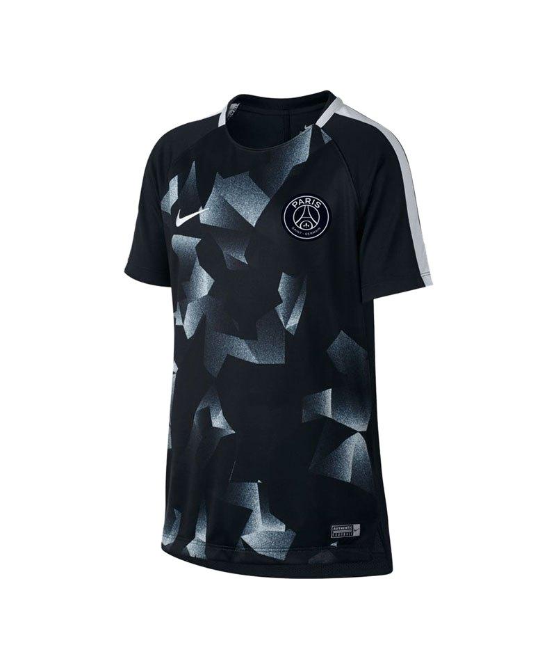 Nike Paris St. Germain Dry Squad Football Top F015 - schwarz