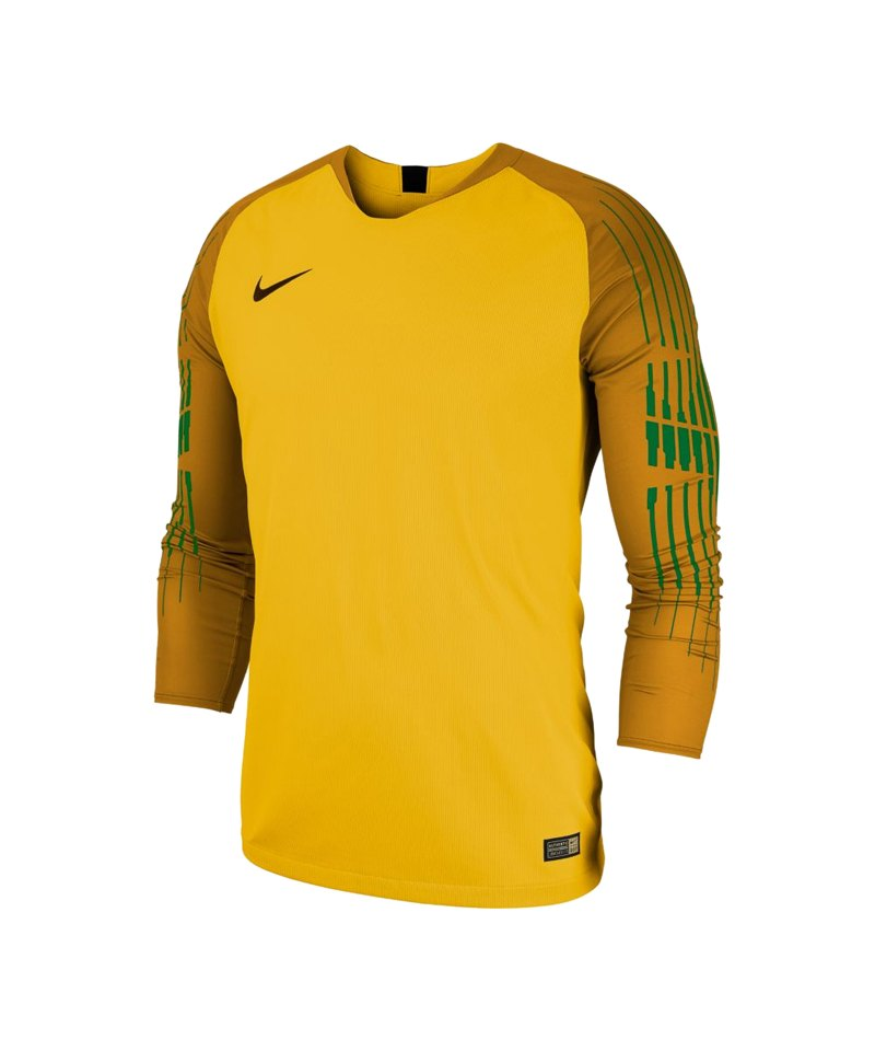 Nike Gardien II Torwarttrikot langarm Gelb F719 - gelb