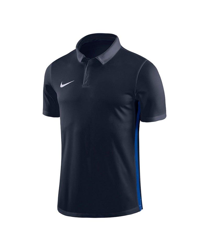 Nike Academy 18 Football Poloshirt Blau F451 - blau