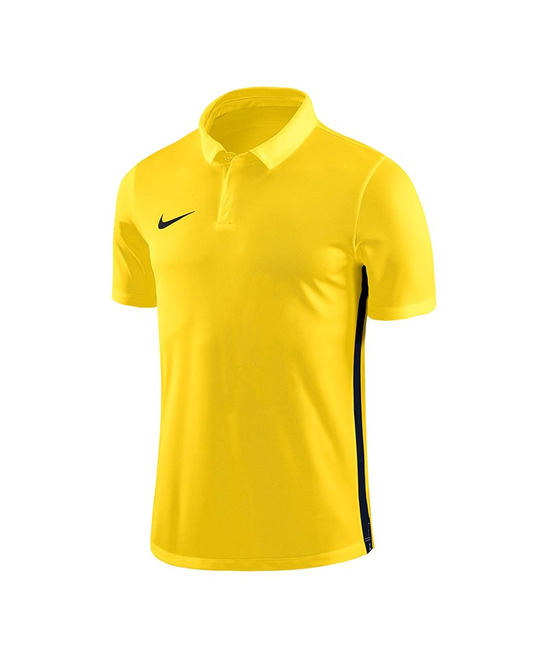 Nike Academy 18 Football Poloshirt Gelb F719 - gelb