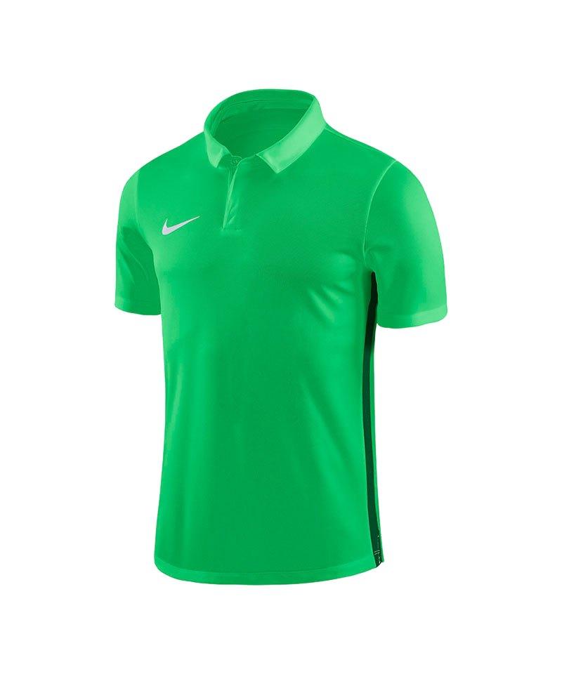 Nike Academy 18 Football Poloshirt Grün F361 - gruen