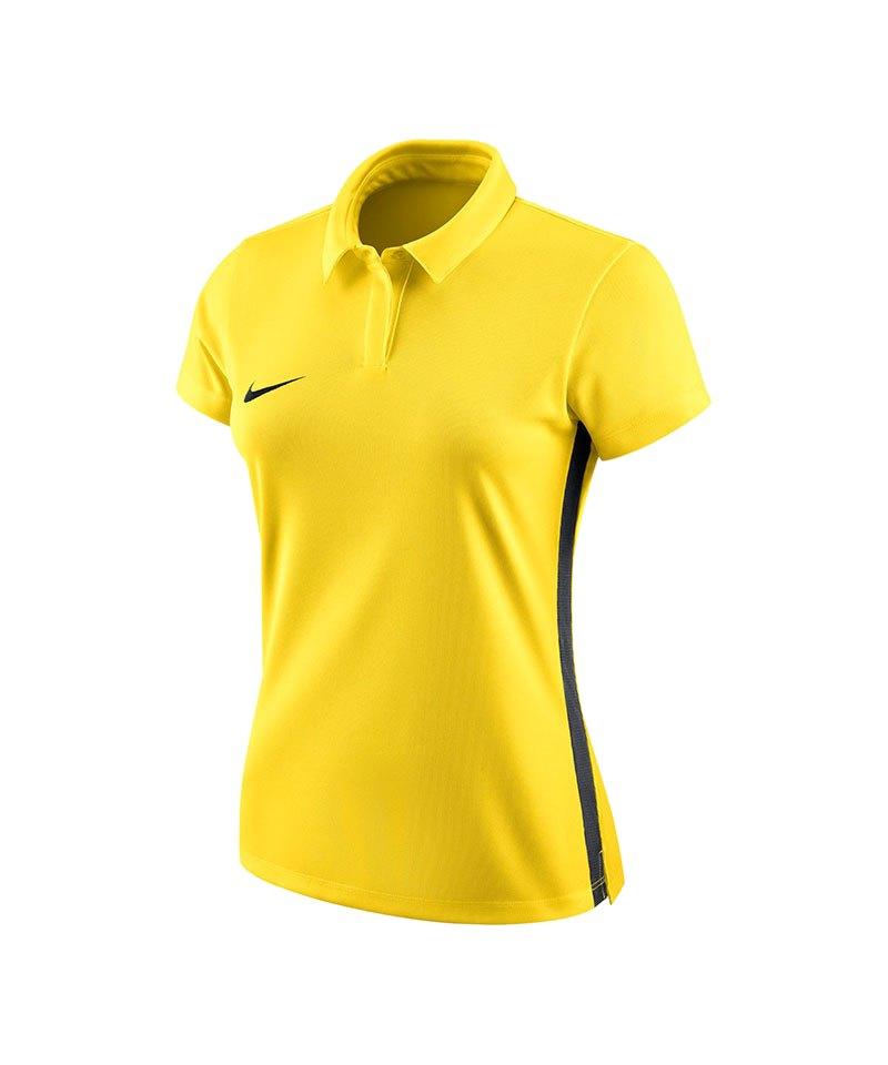 Nike Academy 18 Football Poloshirt Damen F719 - gelb