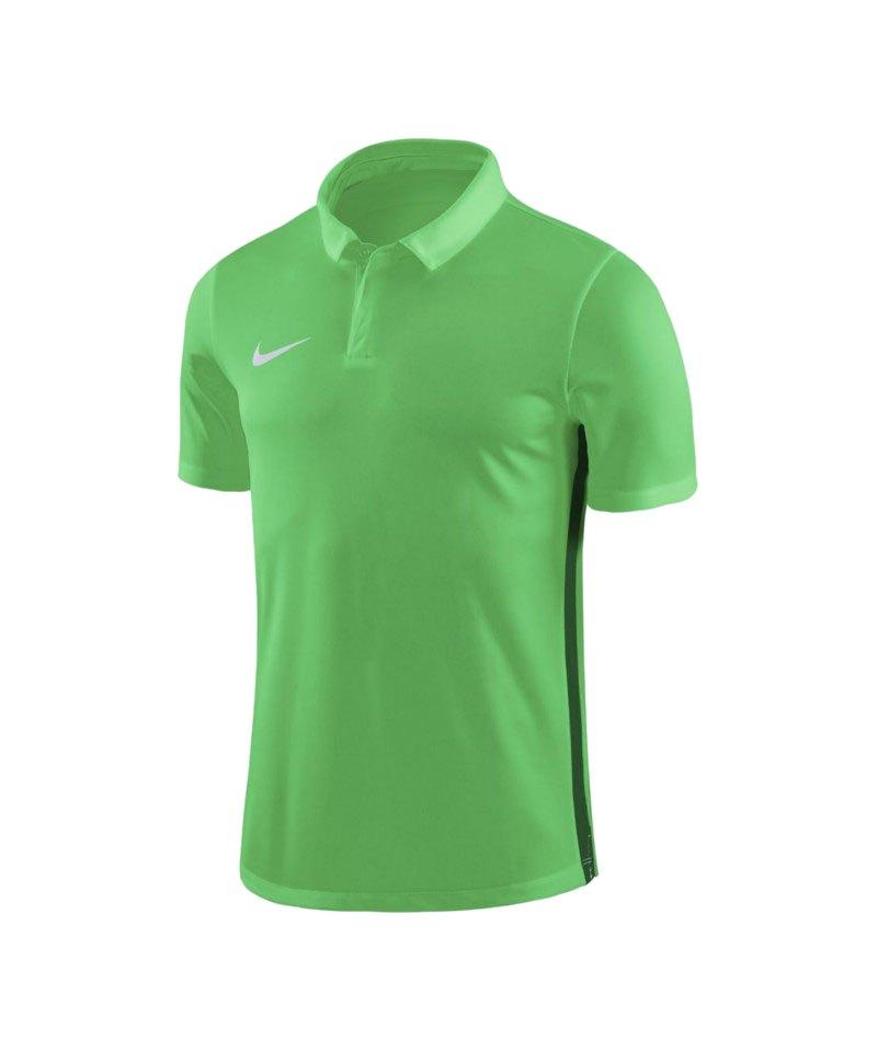Nike Academy 18 Poloshirt Kids Grün F361 - gruen