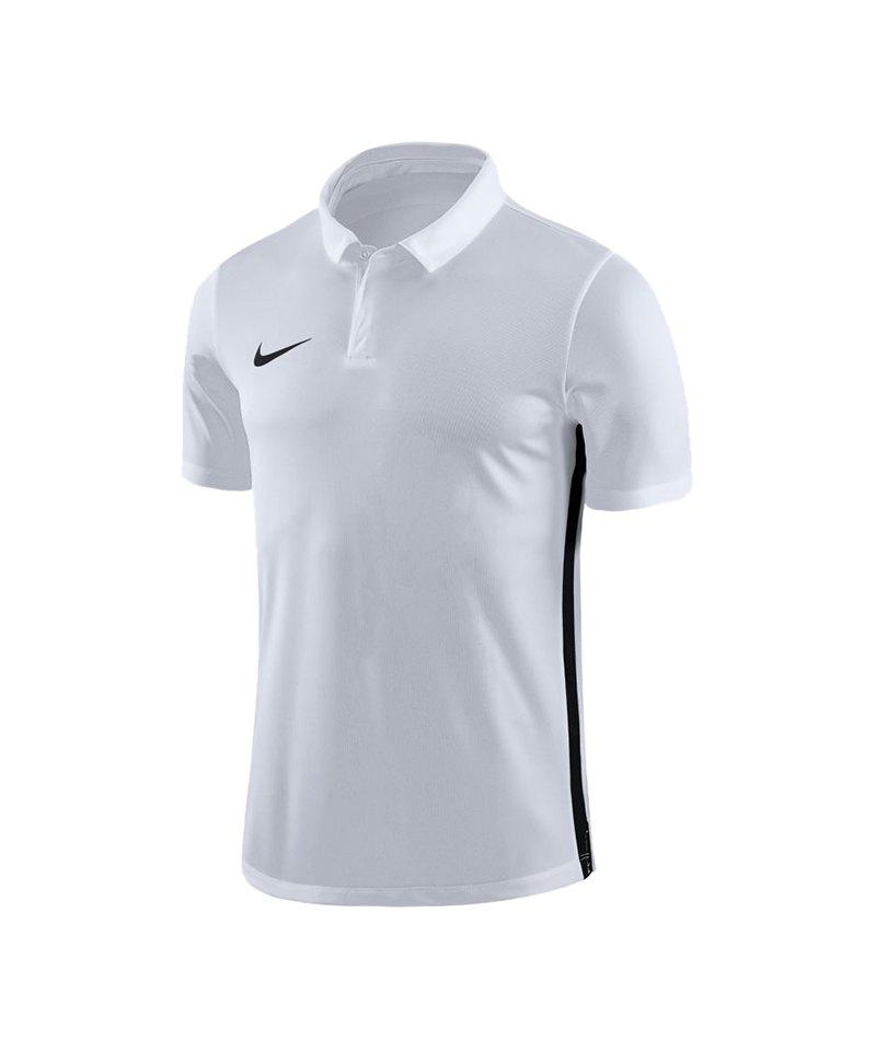 Nike Academy 18 Poloshirt Kids Weiss F100 - weiss
