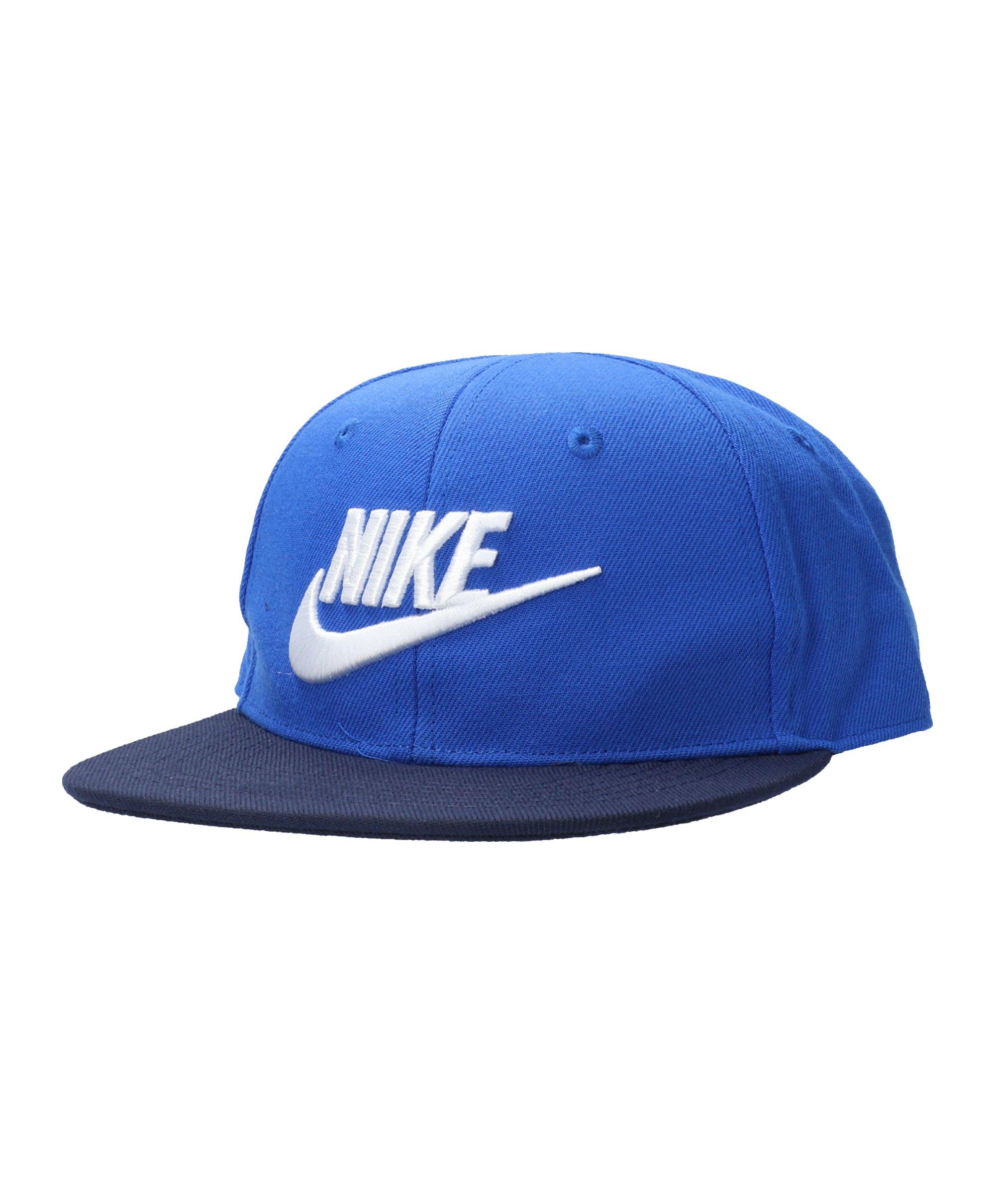 Nike True Limitless Snapback Cap Kids Blau FU89 - blau