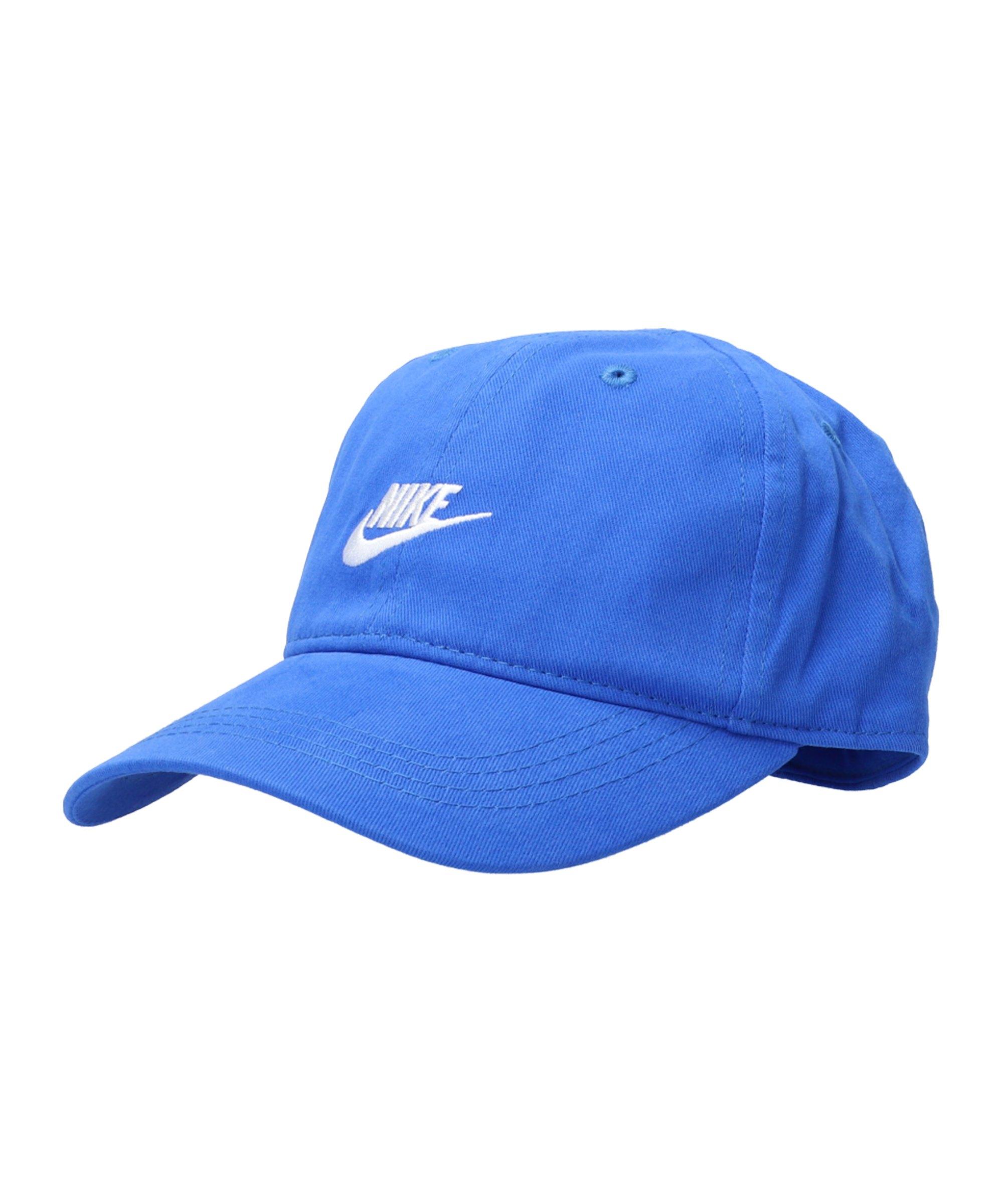 Nike Futura Curve Brim Cap Kids Blau FU89 - blau