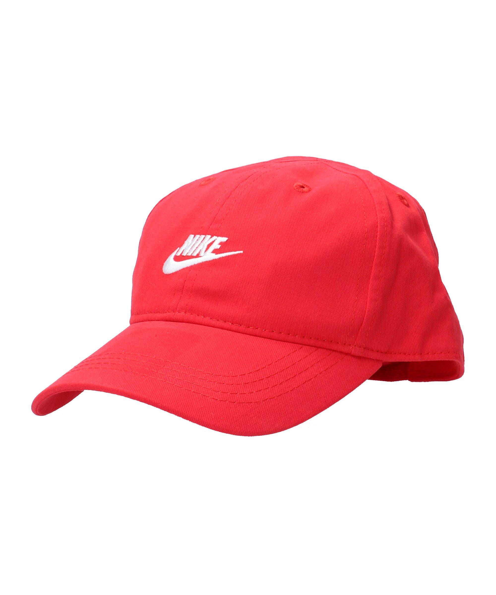 Nike Futura Curve Brim Cap Kids Rot FU10 - rot
