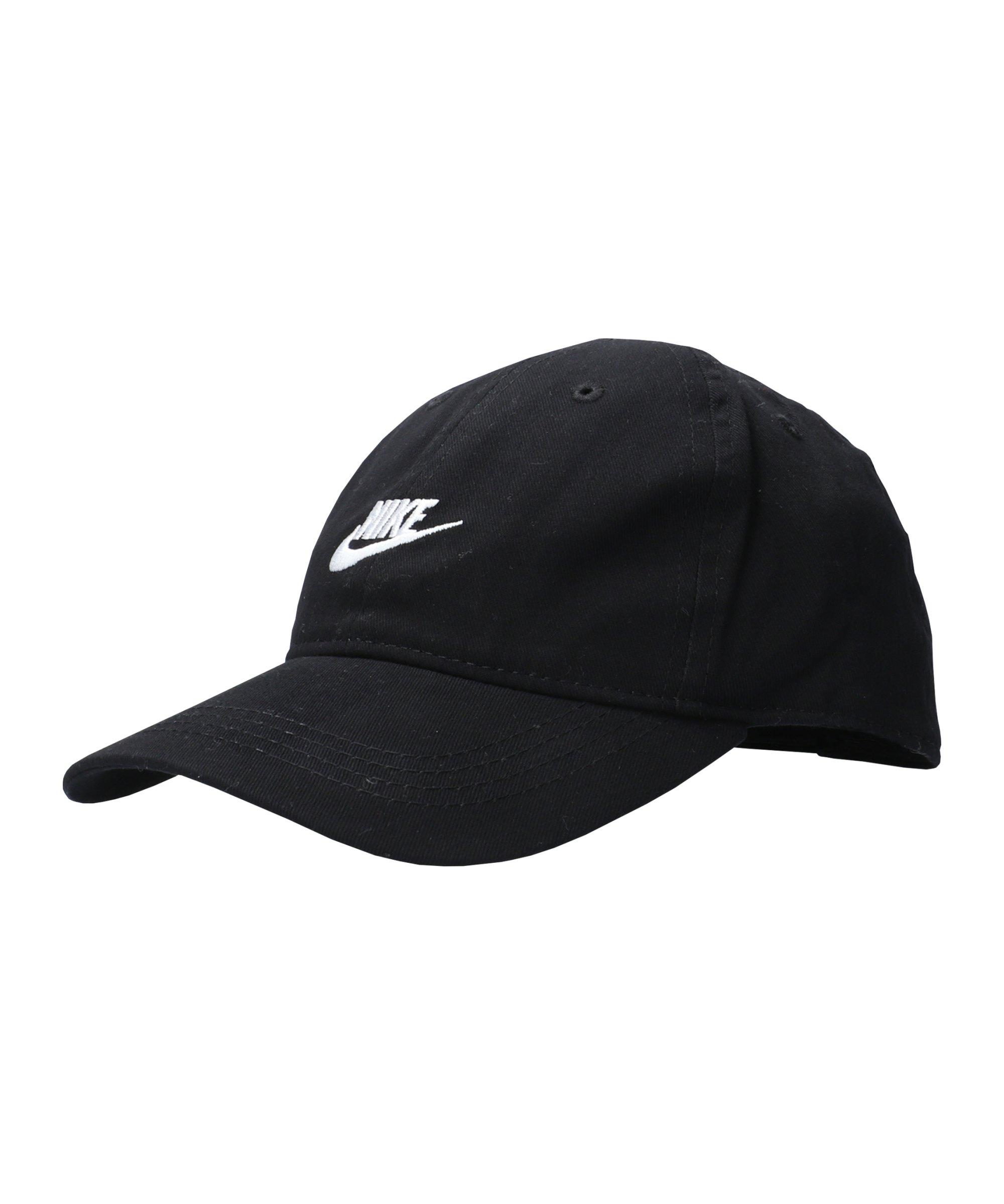 Nike Futura Curve Brim Cap Kids Schwarz F023 - schwarz