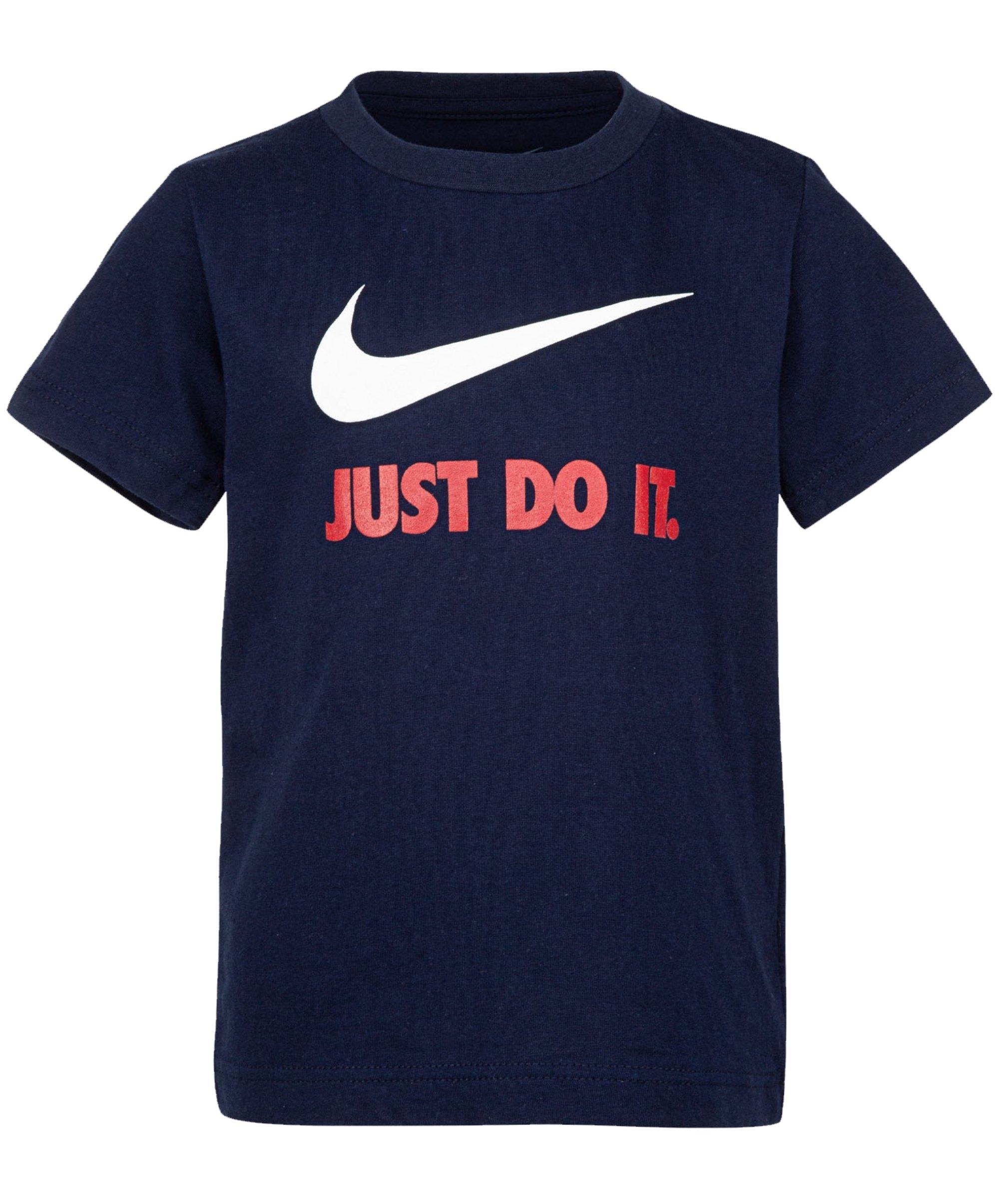 Nike Swoosh JDI T-Shirt Kids Blau FB7N - blau