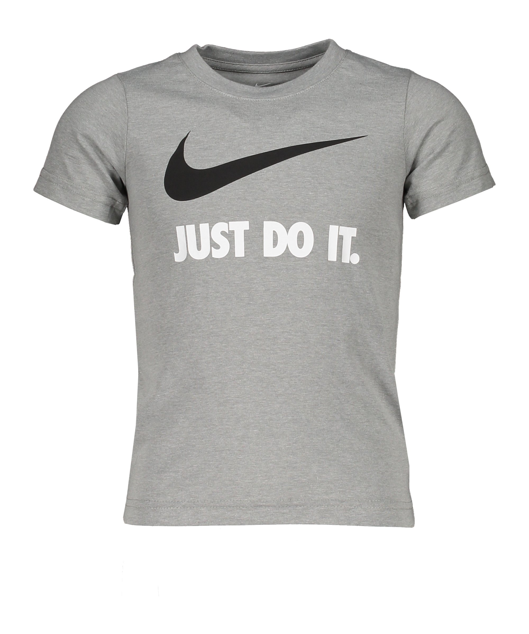 Nike Swoosh JDI T-Shirt Kids Grau Weiss FG1J - grau