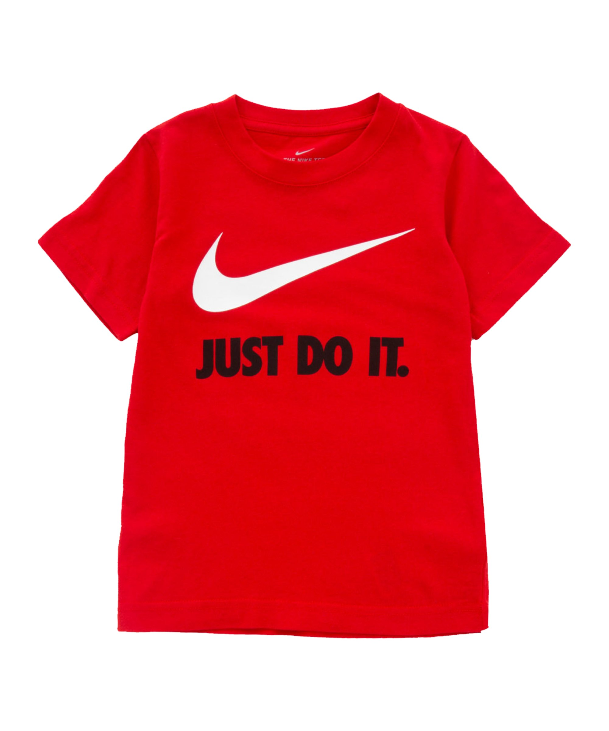 Nike Swoosh JDI T-Shirt Kids Rot FU10 - rot