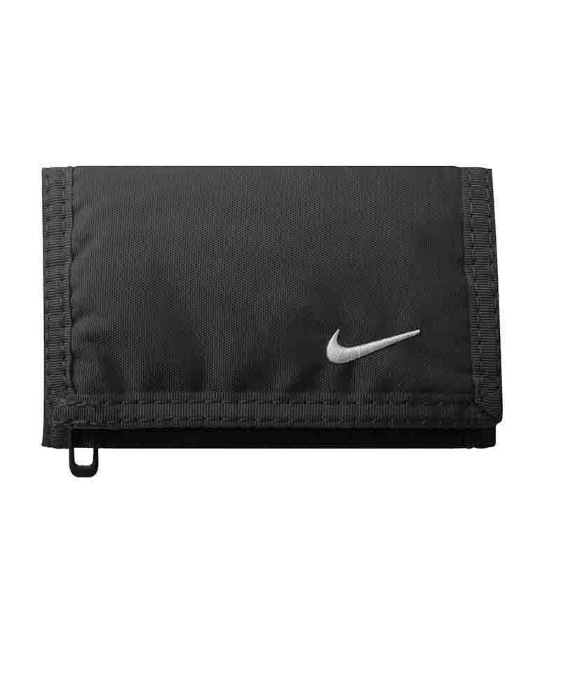 Nike Basic Wallet Geldbeutel Schwarz F068 - schwarz