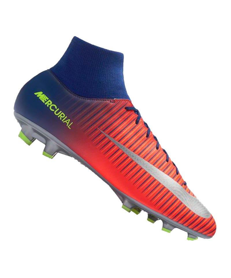 Nike FG Mercurial Victory VI DF Blau F409 - blau