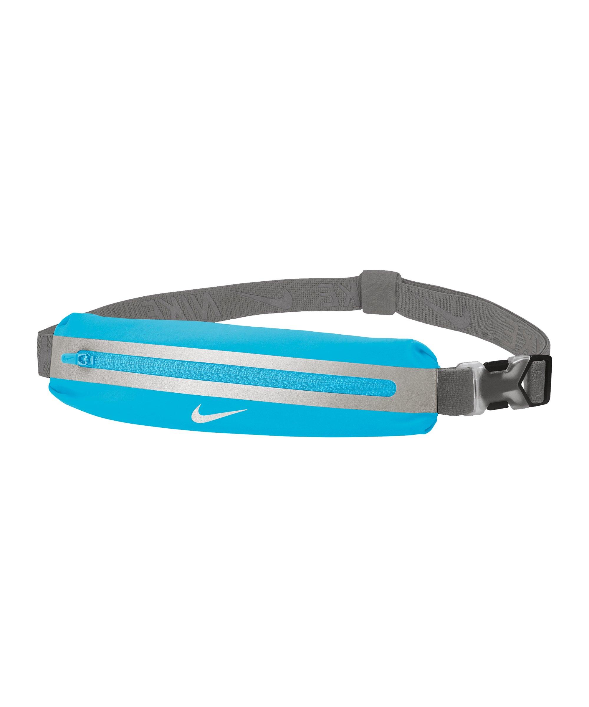 Nike Slim Waistpack 2.0 Hüfttasche Blau Grau F449 - blau