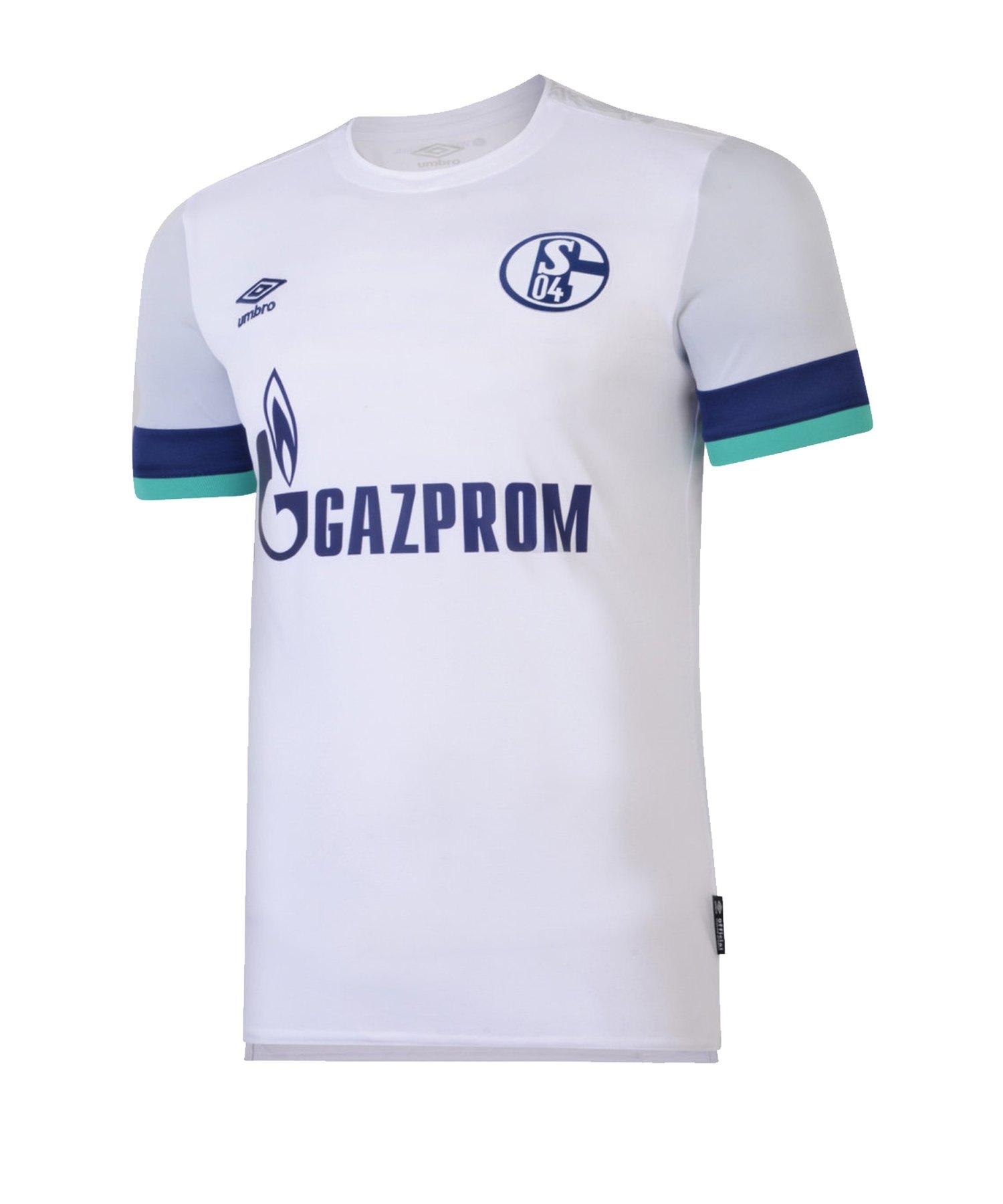 Umbro FC Schalke 04 Trikot Away 2019/2020 - weiss