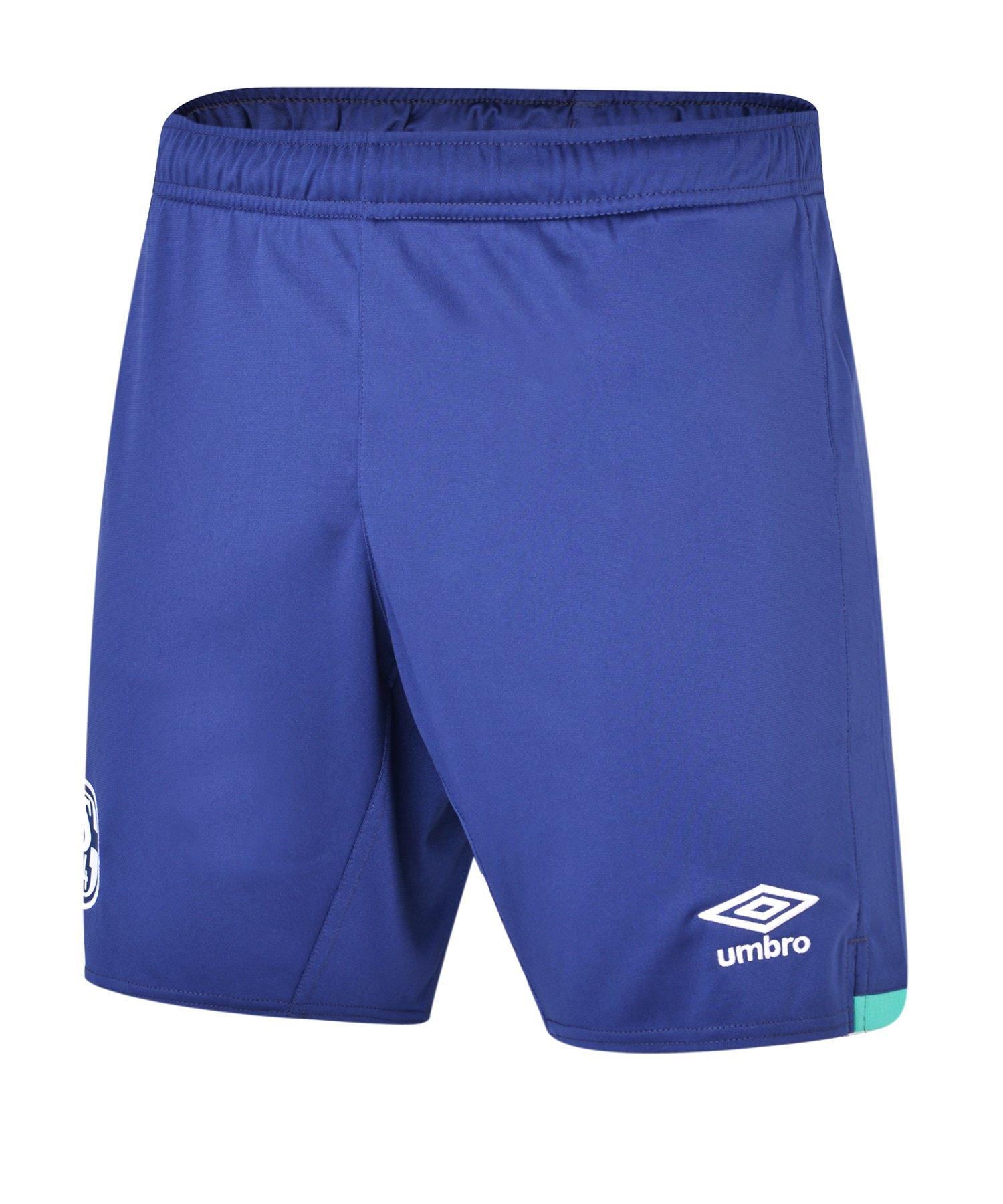 Umbro FC Schalke 04 Short Away 2019/2020 - weiss