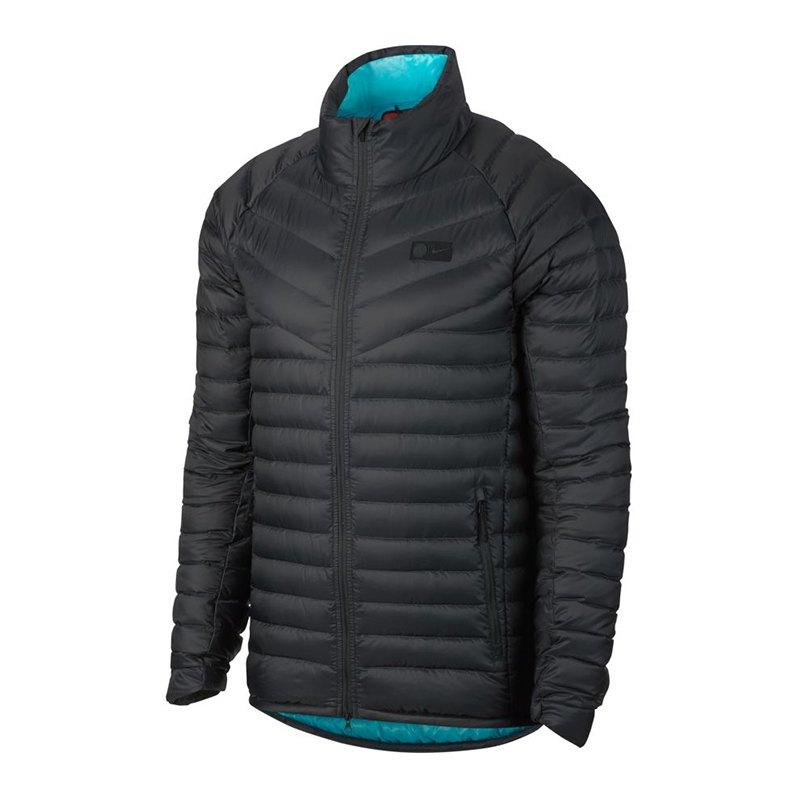 Nike FC Chelsea London OW Down Jacket Jacke F064 - schwarz