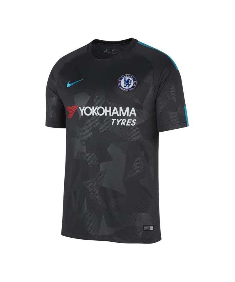 Nike Trikot UCL FC Chelsea London 2017/2018 F061 - grau