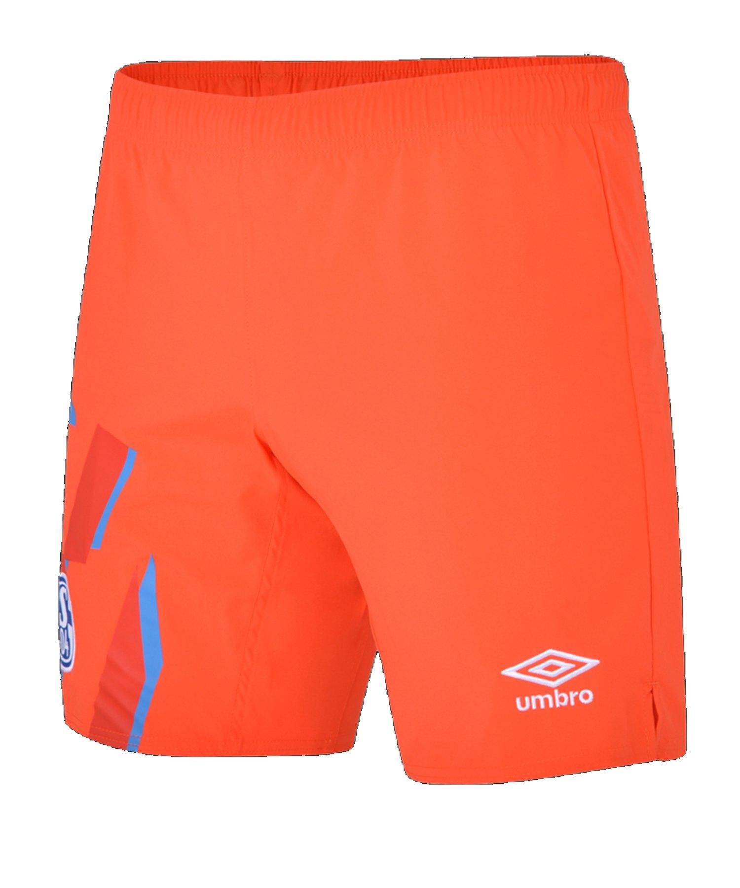 Umbro FC Schalke 04 Torwart Short Home Kids 19/20 - orange