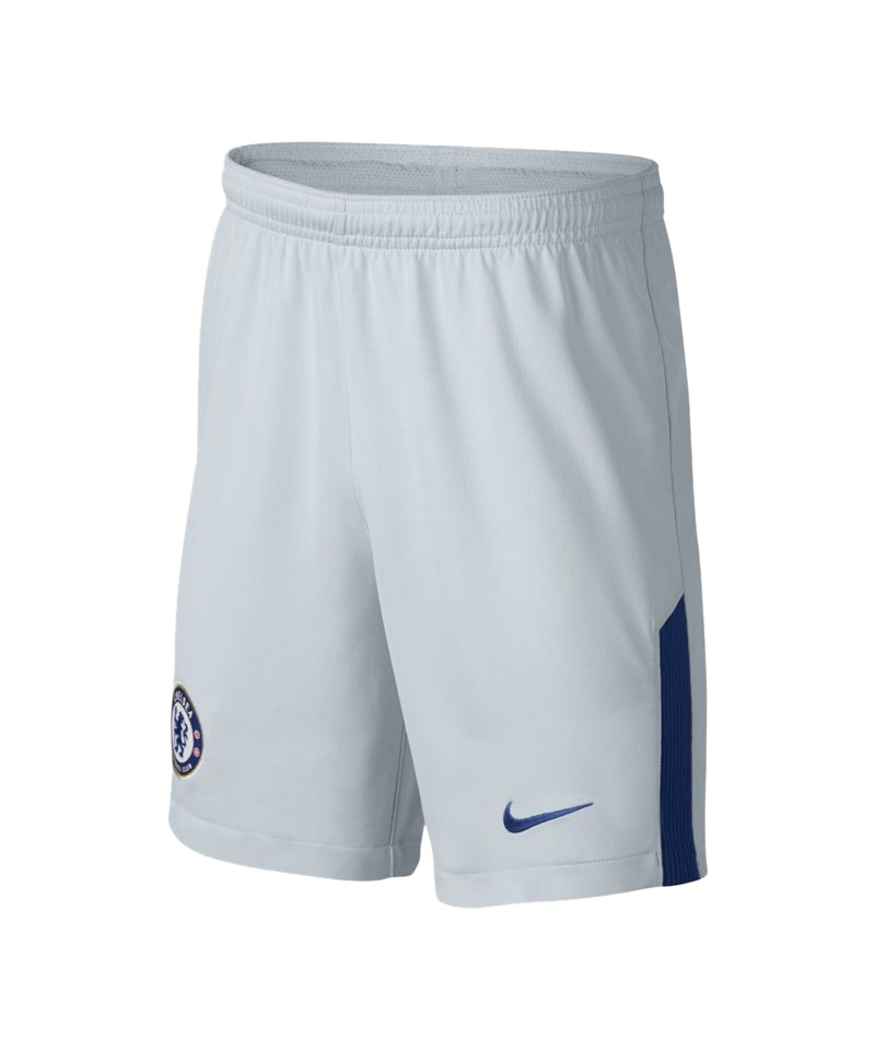 Nike Short 17/18 FC Chelsea London Kinder F043 - grau