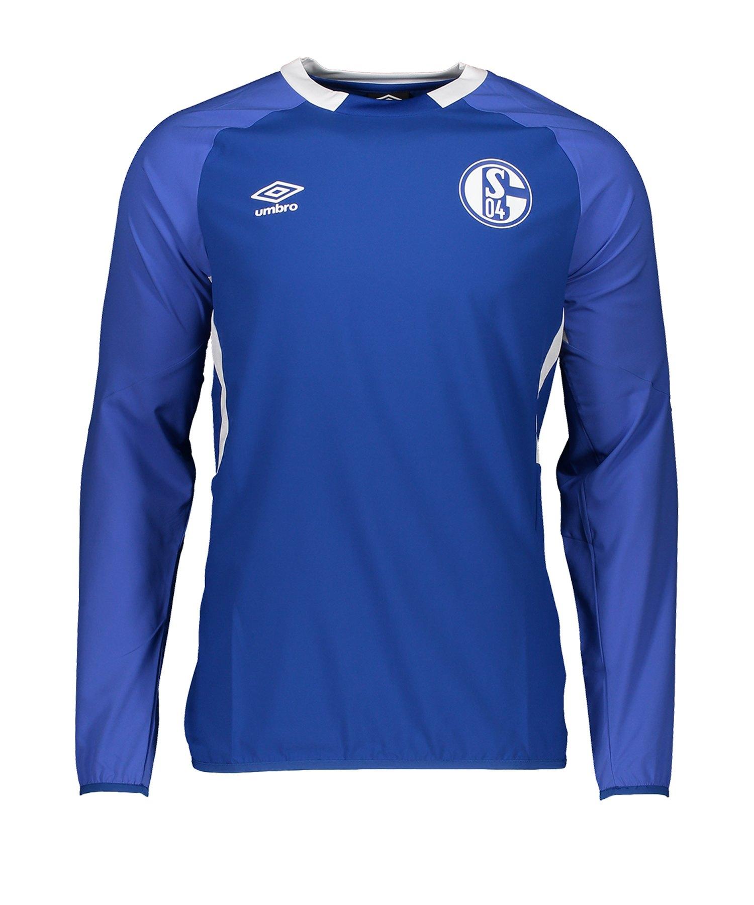 Umbro FC Schalke 04 Drill Top Sweatshirt FHPB - blau