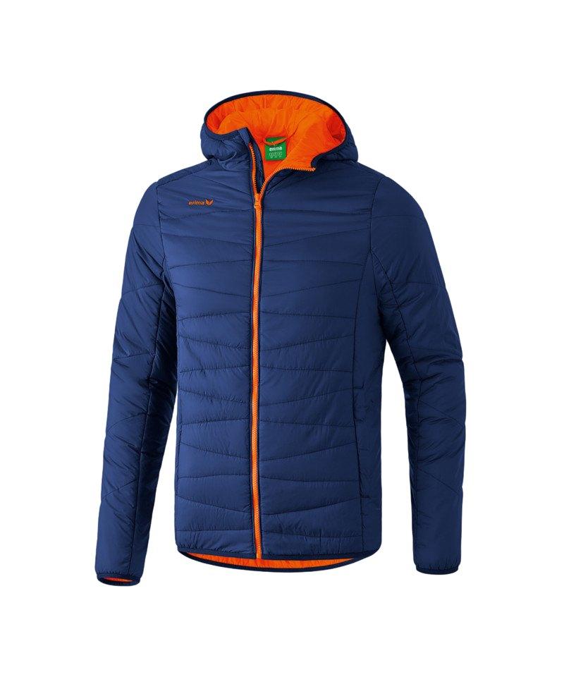 Erima Winterjacke Blau Orange - blau