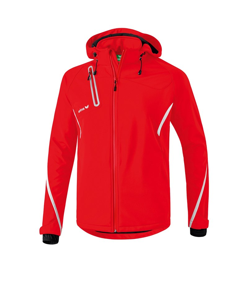 Erima Active Wear Softshell Jacke Kinder Rot - rot