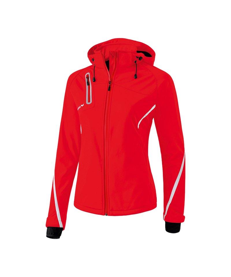 Erima Active Wear Softshell Jacke Damen Rot - rot